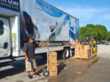 1588 lbs. of food raised with the help of local partners