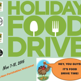 4th Annual Holiday Food Drive