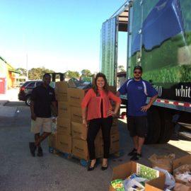 Community Food Drive Raises over 2500 lbs!