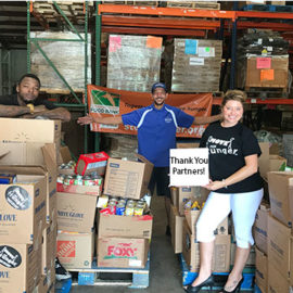 Over 3,000 lbs. of Food Raised During Annual Summer Food Drive