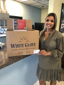 Oculina Bank in the White Glove food drive