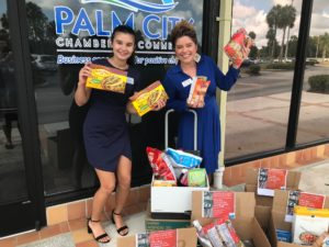 Palm City Chamber White Glove Moving Food Drive