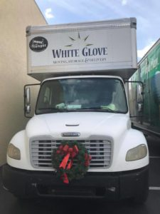 white glove moving holiday spirit