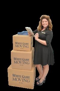 white glove moving tips