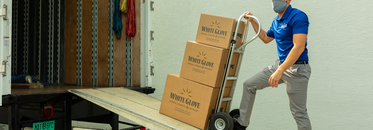 white glove moving and storage